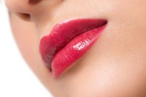 healthy luscious lips